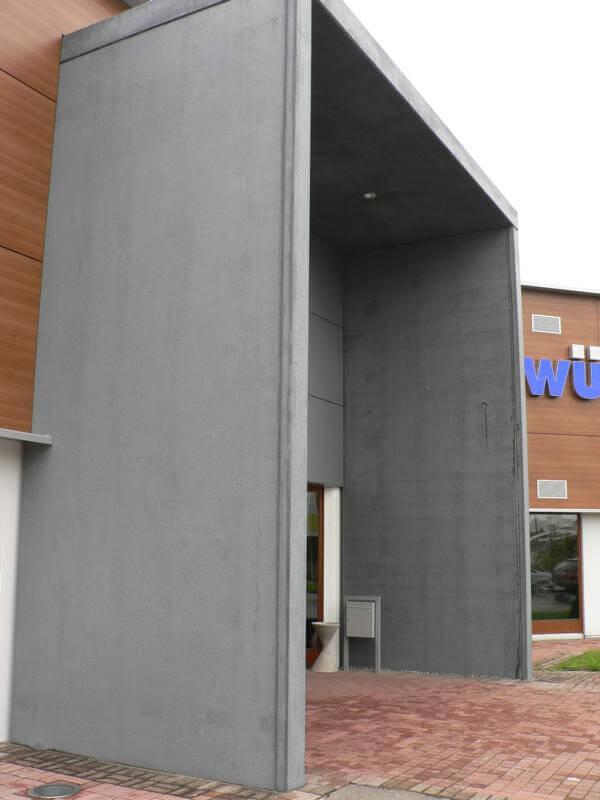 Vertriebsbüro Lang Betonfertigteile Projekt Schule In Engen