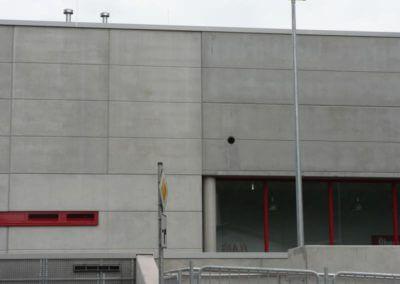 Vertriebsbüro Lang Betonfertigteile - Projekt Kaufland Schramberg