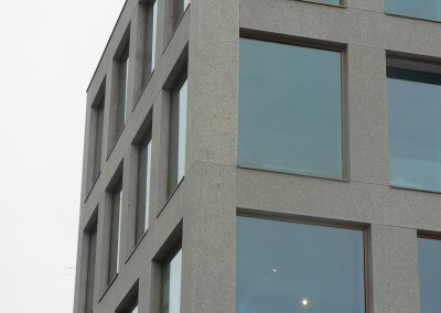 Vertriebsbüro Lang Betonfertigteile - Projekt Sporthaus Konstanz
