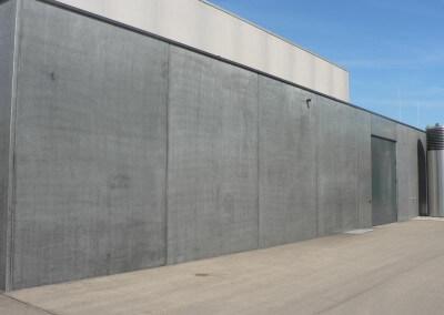 Vertriebsbüro Lang Betonfertigteile - Projekt Stadthalle Rottweil