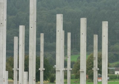 Vertriebsbüro Lang Betonfertigteile - Projekt